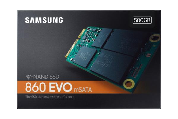 SAMSUNG SSD 860 EVO mSata Series 500GB MZ-M6E500 SATA III Basic