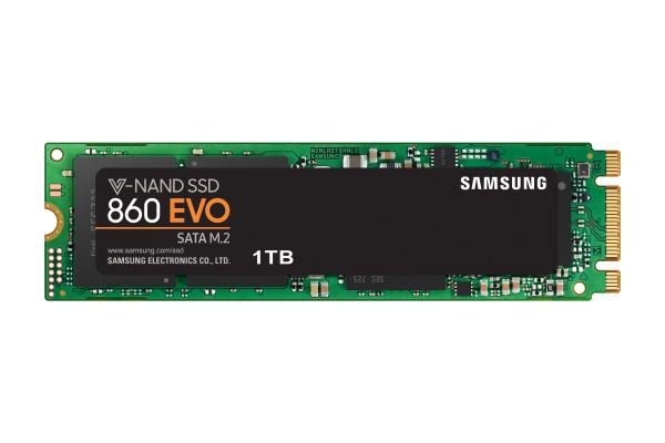 SAMSUNG SSD 860 EVO m.2 Series 1TB MZ-N6E1T0 SATA III Basic