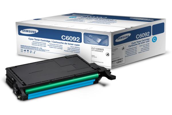SAMSUNG Toner-Modul cyan CLT-C6092 CLP-770ND 7000 Seiten