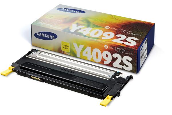 SAMSUNG Toner yellow CLT-Y4092 CLP 310/315 1000 Seiten