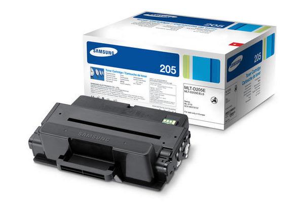 SAMSUNG Toner-Modul EHY schwarz MLT-D205E ML-3710 10´000 Seiten