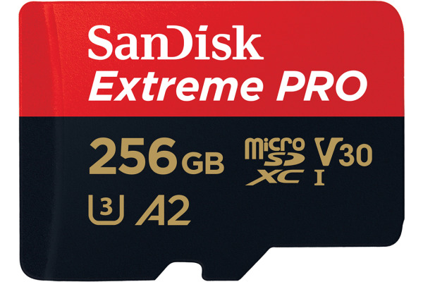 SANDISK ExtremePro Micro SDXC 256GB 130672 SDSQXCZ-256G-GN6MA 170MBs