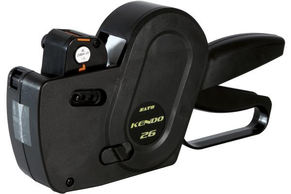 SATO Kendo Preisauszeichner 26x12mm 3006 schwarz 6 Ziffern