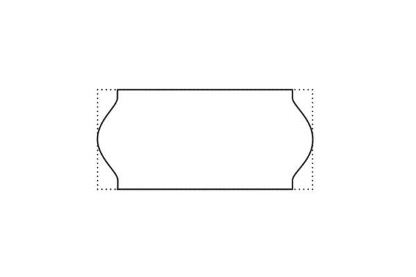 SATO Etiketten 26x12mm 700300200 weiss, non-permit 1500 Stck.