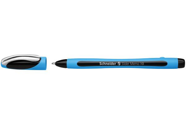 SCHNEIDER Kugelschreiber Slider Memo 0.7mm 150201 schwarz