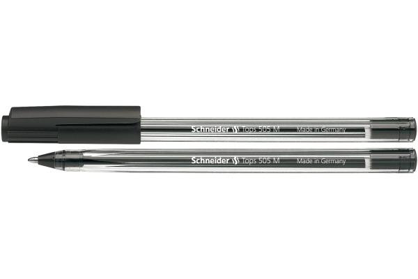 SCHNEIDER Kugelschreiber TOPS M 150801 schwarz