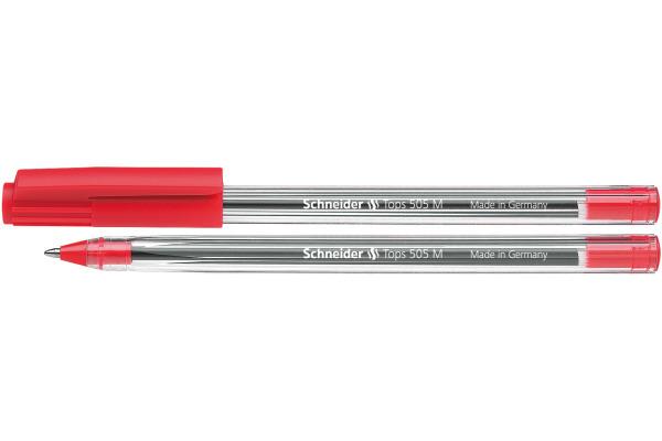 SCHNEIDER Kugelschreiber TOPS M 150802 rot