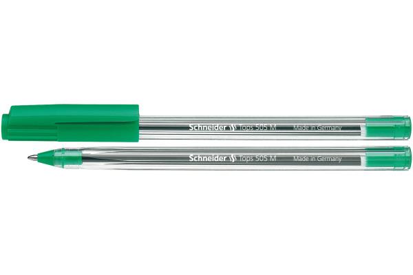 SCHNEIDER Kugelschreiber TOPS M 150804 grün