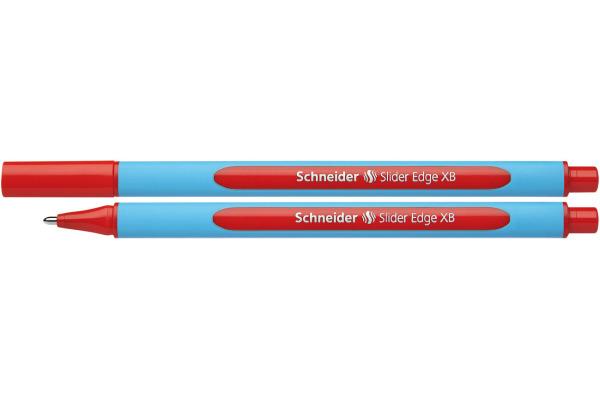 SCHNEIDER Kugelschreiber Slider Edge 1.4mm 152202 rot, XB