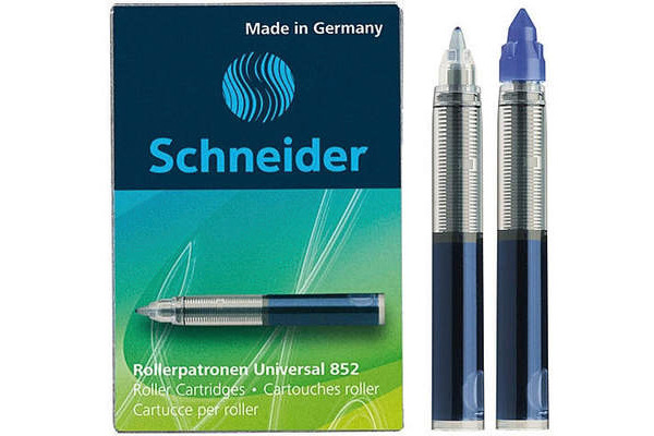 SCHNEIDER Tintenpatrone Breeze 0,3mm 185203 blau,...
