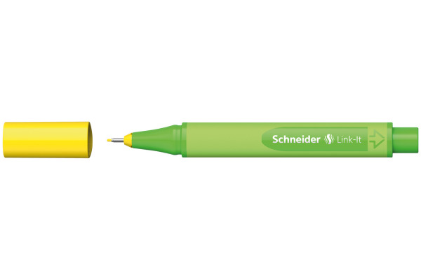 SCHNEIDER Fineliner Link-It 191205 gelb