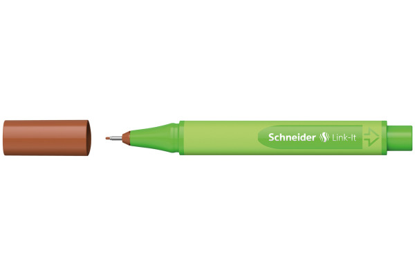 SCHNEIDER Fineliner Link-It 191207 braun