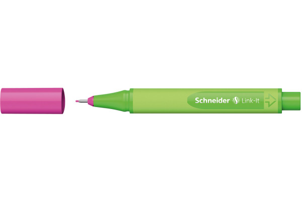 SCHNEIDER Fineliner Link-It 191209 rosa