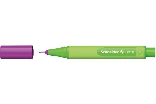 SCHNEIDER Fineliner Link-It 191220 rot-violett