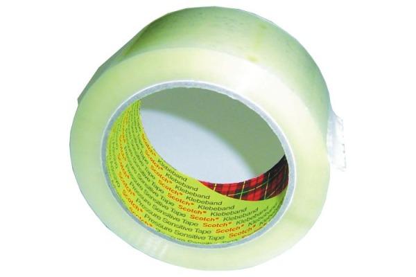 SCOTCH Verpackungsband 371 50mmx66m 371-50T transparent