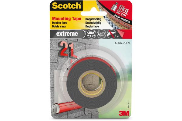 SCOTCH Montageband Extreme 19mmx1,5m 40021915
