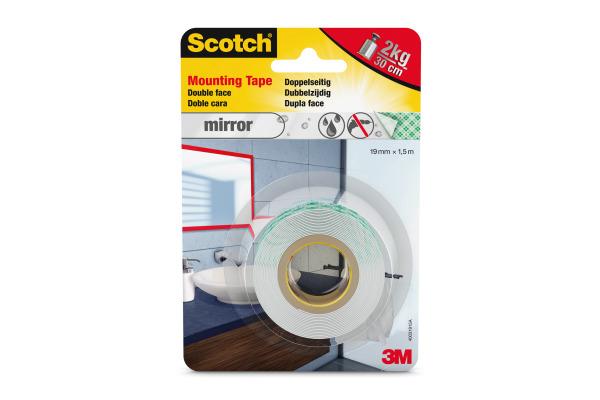 SCOTCH Montageband Mirror 19mmx1,5m 40031915