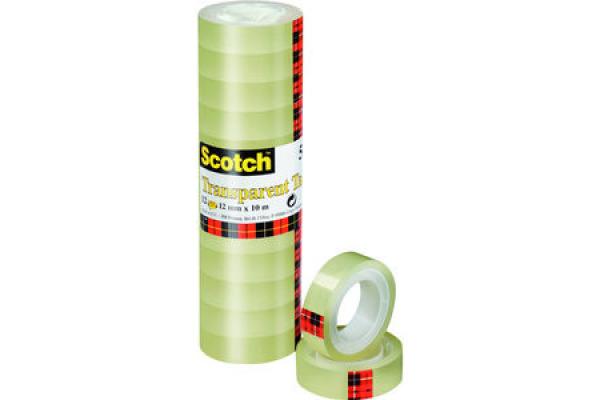 SCOTCH Tape 550 19mmx10m 5501910S transparent, reissfest...