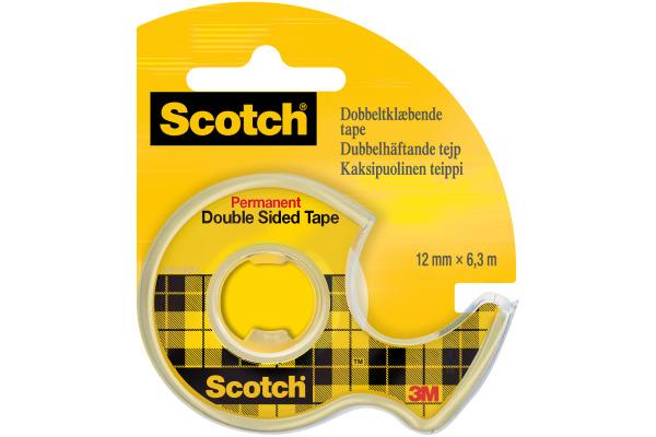 SCOTCH Tape mit Abroller 665 12mmx6.3m 7100150064...