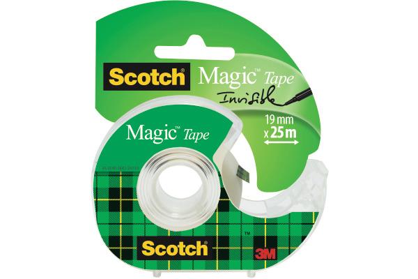 SCOTCH Magic Tape 810 19mmx15m 8-1915D unsichtbar, auf...