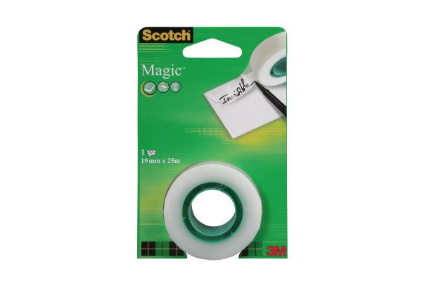 SCOTCH Magic Tape 810 19mmx25m 8-1925R transparent, Refill