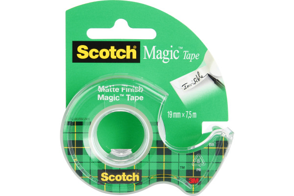 SCOTCH Magic Tape 810 19mmx7.5m 8-1975D auf Abroller