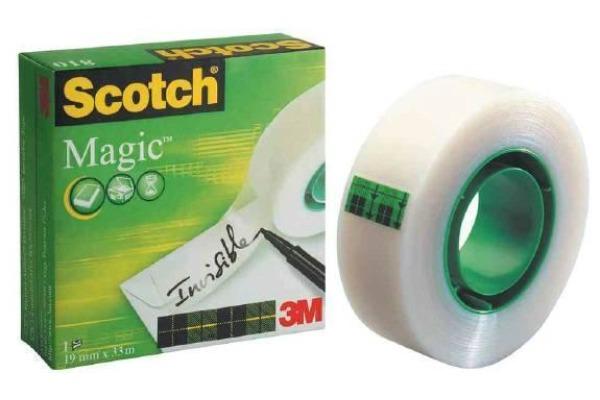 SCOTCH Magic Tape 810 12mmx33m 8101233K unsichtbar,...