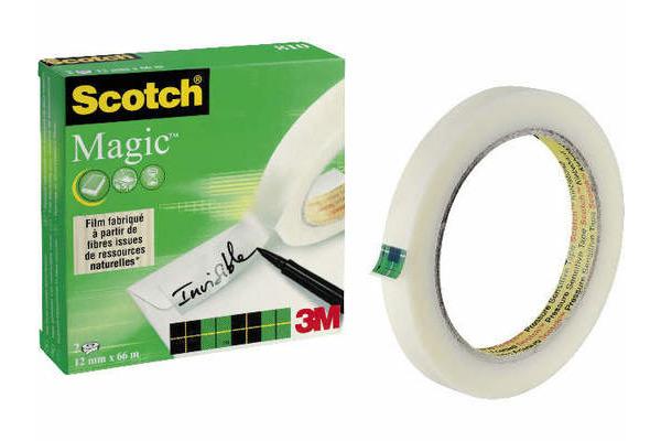 SCOTCH Magic Tape 810 12mmx66m 8101266K transparent, 2...