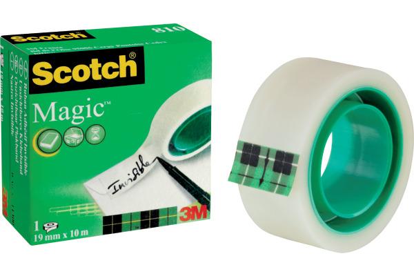 SCOTCH Magic Tape 810 19mmx10m 8101910K unsichtbar, beschriftbar