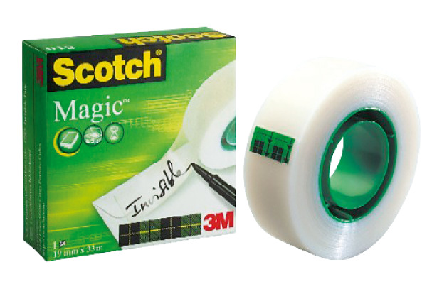 SCOTCH Magic Tape 19mmx33m 8101933K unsichtbar