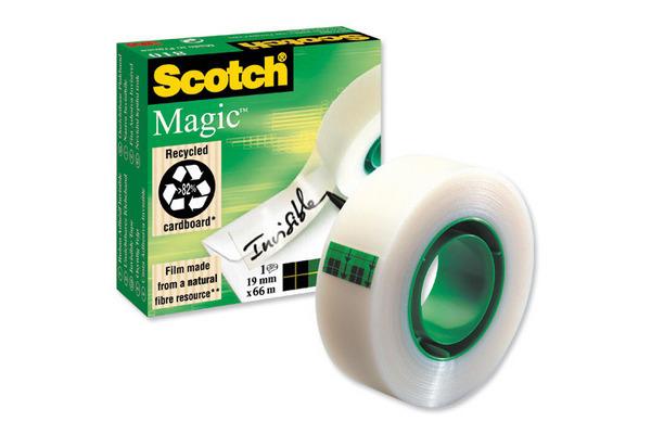 SCOTCH Magic Tape 810 19mmx66m 8101966K unsichtbar