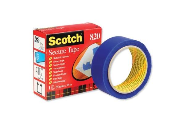 SCOTCH Sigelband 820 33mx35mm 8203533L blau