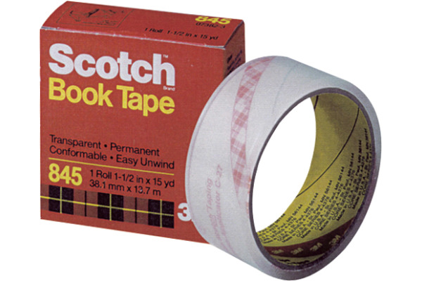 SCOTCH Buchklebeband 38mmx13,7m 845/3813 transparent