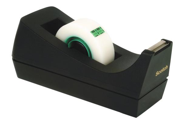 SCOTCH Pultabroller C38S schwarz, für 19mm...