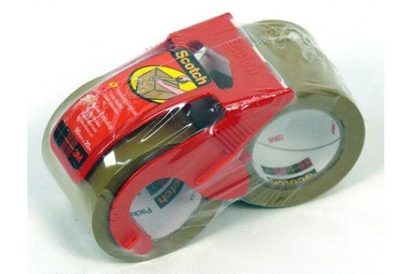 SCOTCH Verpackungsband Promo 48mmx20m C5020D-P braun, mit...