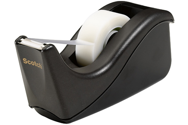 SCOTCH Dispenser Cool Color 19mmx33m C60-BK schwarz