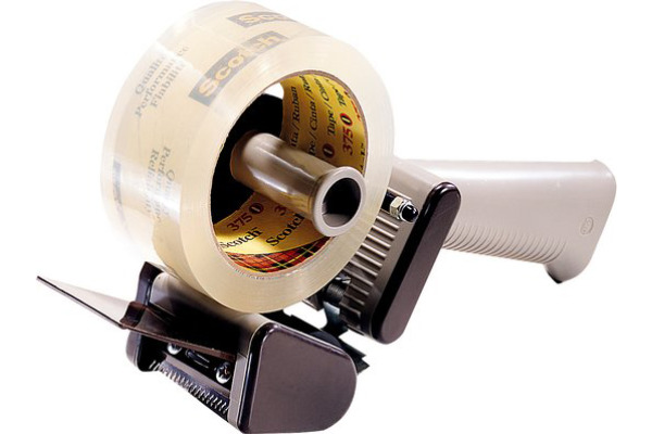 SCOTCH Abroller Verpackungsband -50mm H-150 grau