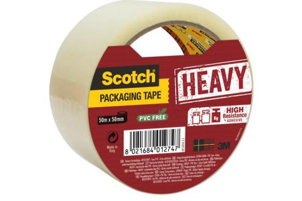 SCOTCH Verpackungsband 50mmx50m HValle5050.SeitenTaschen...