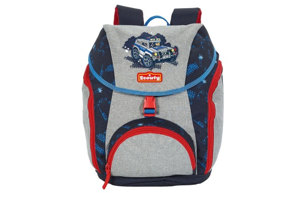 SCOUTY Kindergarten Rucksack 202500580 Speedy Supercop