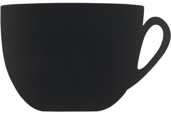 SECURIT Kreidetafel CUP FB-CUP schwarz 28.3x44.5x0.3cm