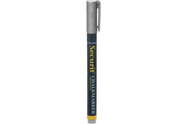 SECURIT Kreidestift 1-2mm SMA100-SL silber