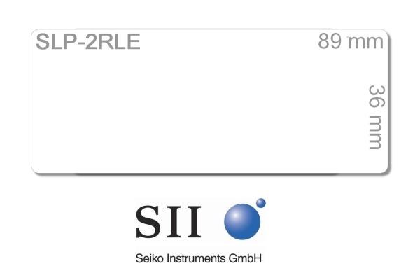 SEIKO Etiketten weiss 36x89mm SLP-2RLE SLP-200 260 Stk. je 2 Rollen