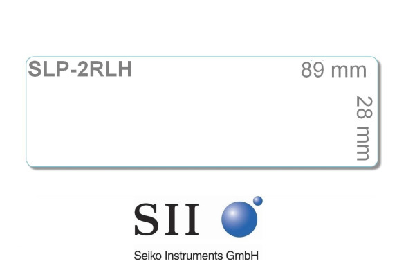 SEIKO Etiketten weiss perm. 28x89mm SLP-2RLH SLP-100 520 Stk.
