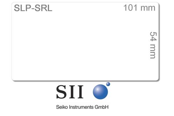 SEIKO Etiketten weiss 54x101mm SLP-SRL SLP-PRO 220 Stk./Rolle