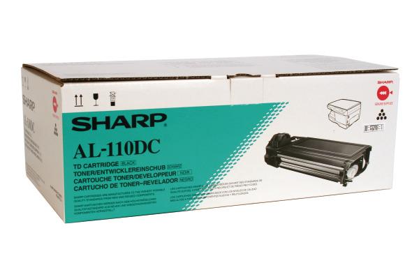 SHARP Toner/Entwickler schwarz AL-110DC AL-1043/1045 4000 Seiten
