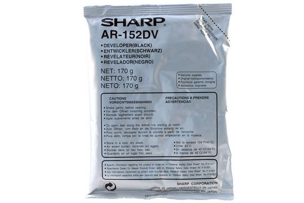 SHARP Entwickler schwarz AR-152DV AR-151/AR-F152 25´000 Seiten
