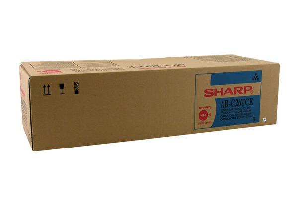 SHARP Toner cyan AR-C26TCE AR-C260/C260M 5500 Seiten