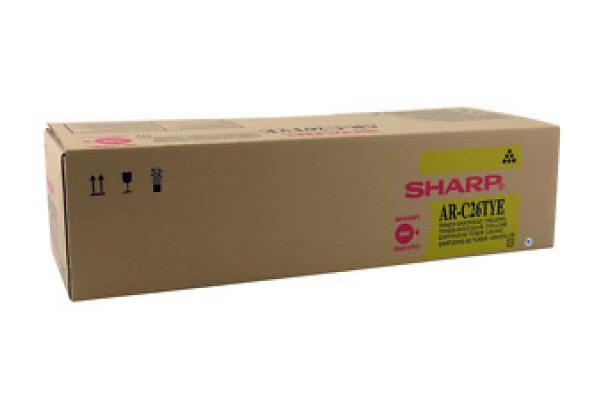 SHARP Toner yellow AR-C26TYE AR-C260/C260M 5500 Seiten