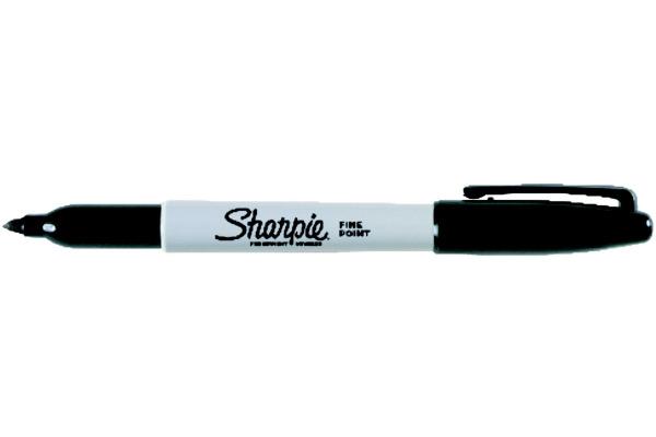 SHARPIE Permanent Marker Fine 1mm S0810930 schwarz