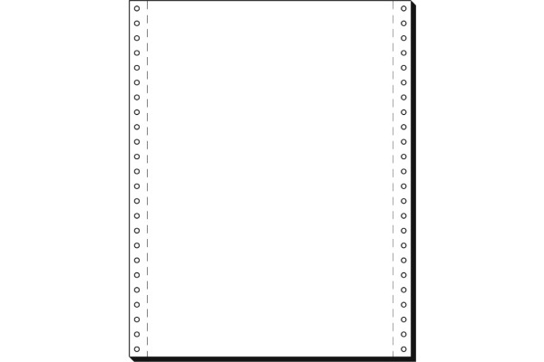 SIGEL Computerpapier blanko 12x240 12241 LP, 70g 2000 Blatt